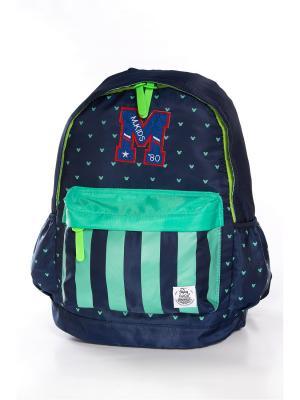Рюкзак Vittorio Richi. Цвет: темно-синий, зеленый
