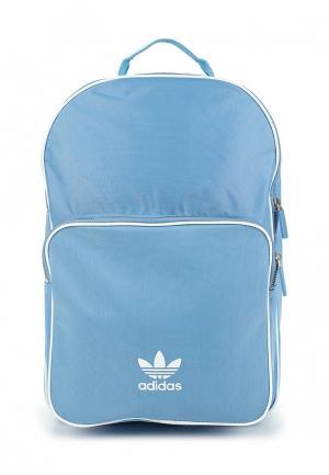 Рюкзак adidas Originals. Цвет: голубой