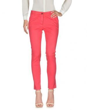 Повседневные брюки MICHAEL FORPUS. Цвет: коралловый
