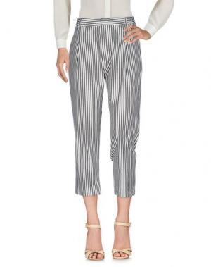 Повседневные брюки SHIRTAPORTER. Цвет: бежевый