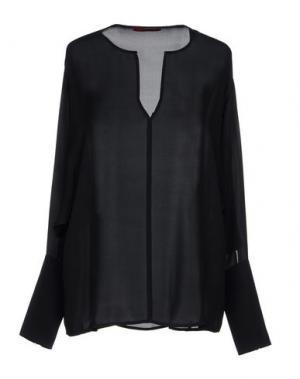 Блузка TAMARA MELLON. Цвет: черный