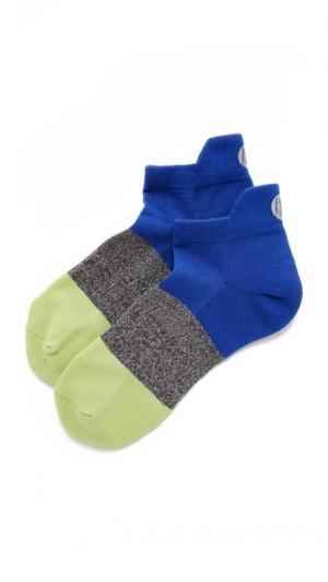 Мягкие носки для бега Mission Pointe Studio. Цвет: голубой