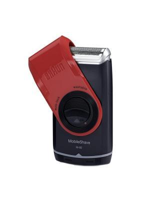 Электробритва MobileShave M60 Braun. Цвет: красный