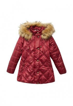 Куртка утепленная Saima. Цвет: бордовый