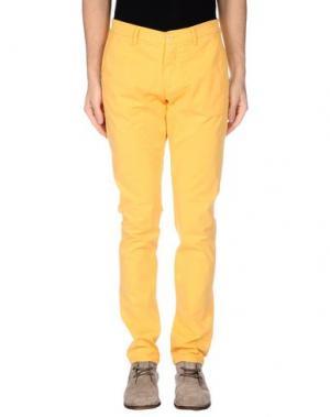 Повседневные брюки BARBATI. Цвет: охра