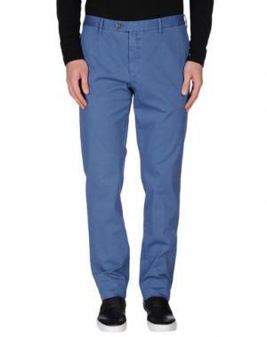 Повседневные брюки VERDERA. Цвет: лазурный
