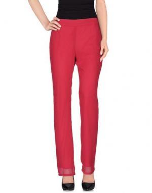 Повседневные брюки CORTE dei GONZAGA. Цвет: пурпурный