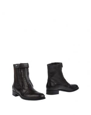 Полусапоги и высокие ботинки DANIELE ANCARANI. Цвет: темно-коричневый