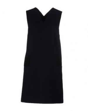 Короткое платье CHRISTOPHER KANE. Цвет: темно-синий