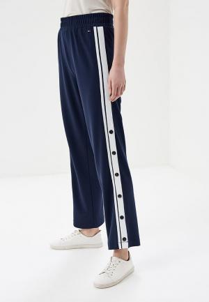 Брюки Tommy Jeans. Цвет: синий