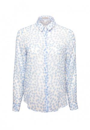 Блуза Colletto Bianco. Цвет: голубой