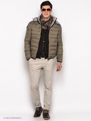 Куртка Fred Mello. Цвет: серо-коричневый