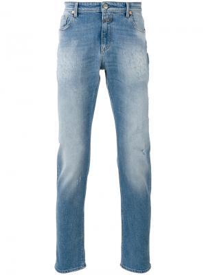 Рваные джинсы Closed. Цвет: синий