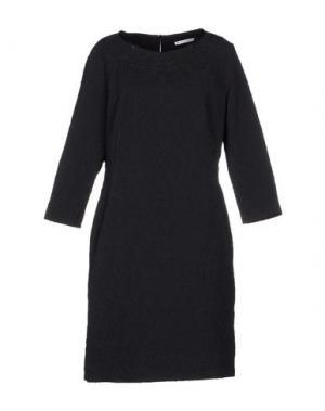 Короткое платье XANDRES. Цвет: темно-синий