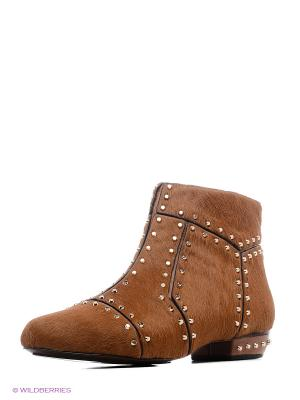 Ботинки UNITED NUDE. Цвет: коричневый, золотистый