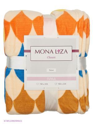 Плед Steve Mona Lisa Classic VIVA Liza. Цвет: оранжевый