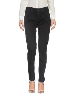 Повседневные брюки SEVEN7. Цвет: черный