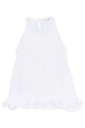 Блуза I Pinco Pallino. Цвет: белый
