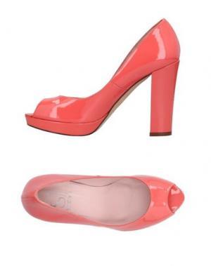 Туфли SI by SINELA. Цвет: лососево-розовый