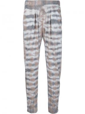 Easy tie-dye trousers Raquel Allegra. Цвет: телесный