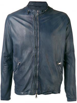 Куртка с высокой горловиной Giorgio Brato. Цвет: синий