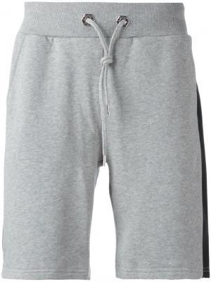 Спортивные шорты Evening Philipp Plein. Цвет: серый