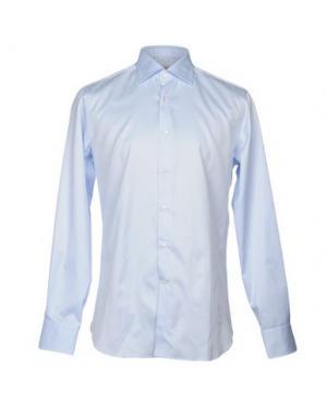 Pубашка ALESSANDRO GHERARDI. Цвет: небесно-голубой