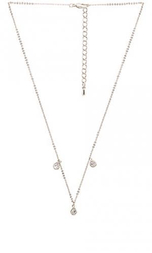 Ожерелье trinity Child of Wild. Цвет: металлический серебряный