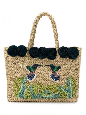Tote bag Serpui. Цвет: коричневый