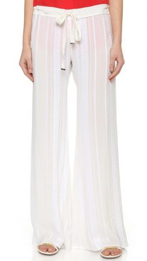 Широкие брюки Alcestes ZEUS+DIONE. Цвет: золотой