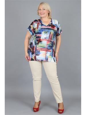 Блузка NadiN. Цвет: зеленый, красный