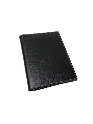 Бумажник водителя Вектор. Цвет: черный