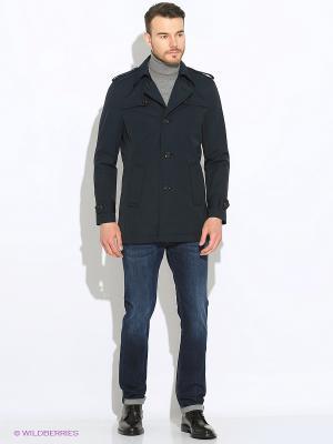 Пальто S.OLIVER. Цвет: синий