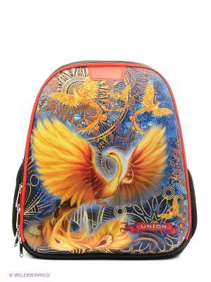 Рюкзак UNION. Цвет: черный, серо-зеленый, оранжевый, золотистый