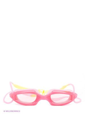 Очки Mad Wave. Цвет: розовый