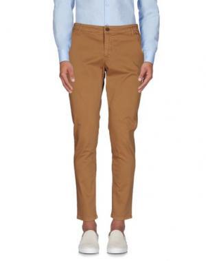 Повседневные брюки DERRIÉRE. Цвет: коричневый