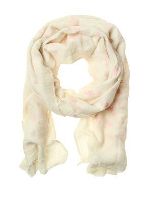 Платок Migura. Цвет: белый, розовый