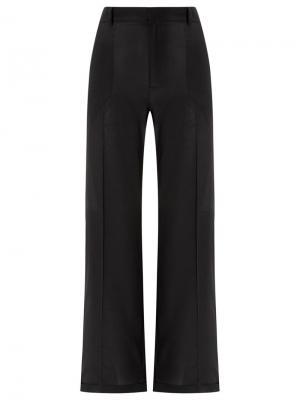 Silk trousers Reinaldo Lourenço. Цвет: чёрный