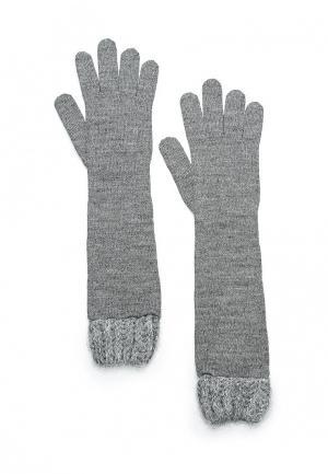 Перчатки Pennyblack. Цвет: серый