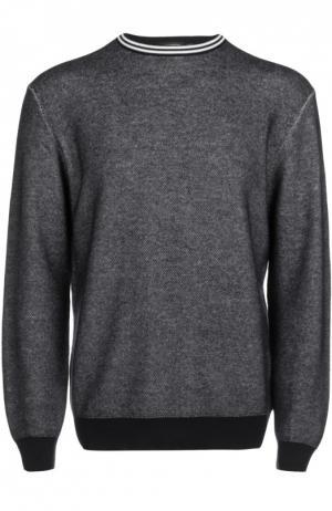 Вязаный пуловер Ermenegildo Zegna. Цвет: темно-синий