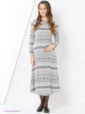 Платье One plus. Цвет: серый