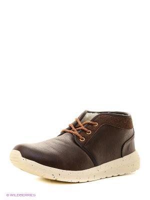 Ботинки Crosby. Цвет: темно-коричневый
