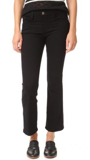 Укороченные джинсы-буткат Le FRAME. Цвет: нуар