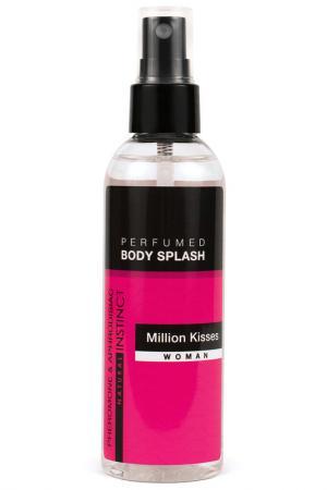Парфюмированная вода для тела NATURAL INSTINCT. Цвет: черный, розовый