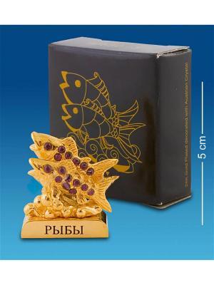 Фигурка Знак Зодиака - Рыбы (Юнион) Юнион. Цвет: золотистый