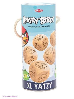 Игра Angry Birds Ятцы Tactic Games. Цвет: бежевый, голубой, желтый, красный