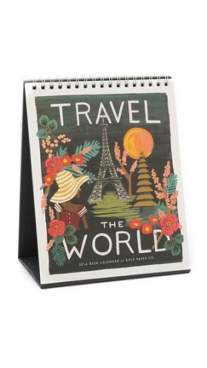 Настольный календарь Travel the World на 2016 г. Rifle Paper Co