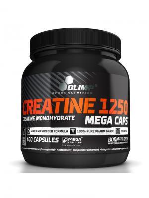 Креатин OLIMP Creatine Mega Caps 400 капс Nutrition. Цвет: черный