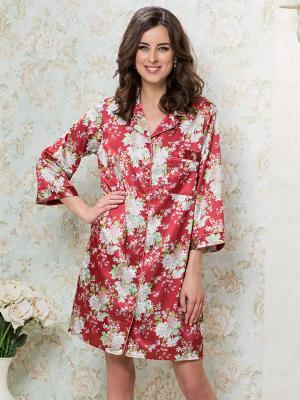 Рубашка MIA-MELLA. Цвет: терракотовый