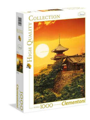 Clementoni. Пазл Япония, Киото. Серия High Quality, 1000  элементов. Clementoni. Цвет: белый, желтый, оранжевый